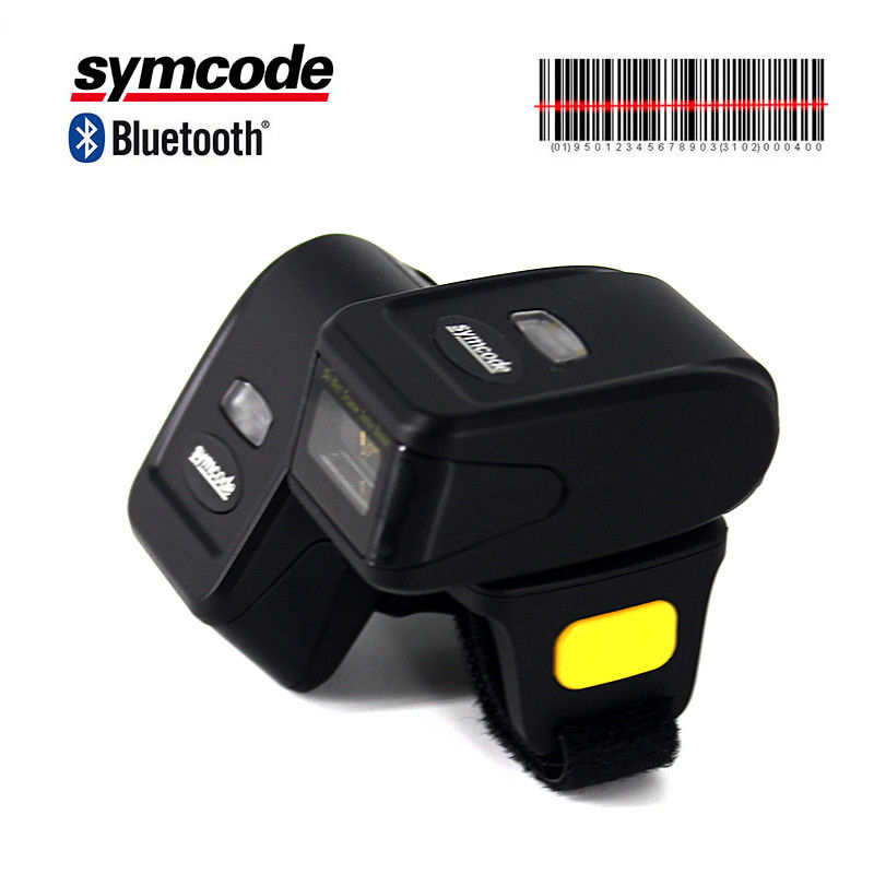 Robust Design Ring Barcode Scanner Low Power Consumption For Supermarkets
